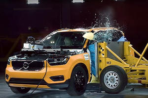 Volvo Deliberately Crashed The New XC40 To Show How Safe It Is