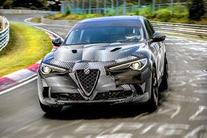 Alfa Romeo Stelvio Quadrifoglio Is The Fastest SUV At The Nurburgring