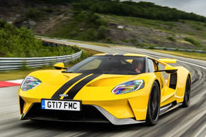 Watch The Ford GT Set A New Lap Record At The Arctic Circle Raceway