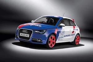 Tokyo 2011: Audi A1 Samurai Blue