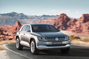 Tokyo 2011: Volkswagen Cross Coupe Concept