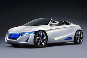 Tokyo 2011: Honda Exhibits World Premiere of EV-STER Electric Small Sports Concept