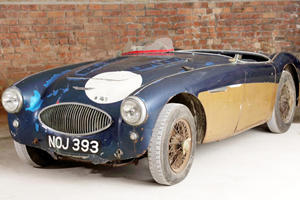 Austin-Healey at Center of Notorious 1955 Le Mans Disaster is up for Auction
