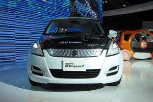 Tokyo 2011: Suzuki Swift EV Hybrid Concept Released at Last