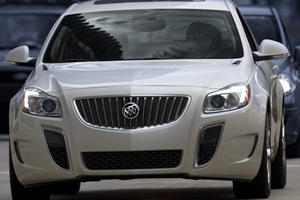 First Look: 2012 Buick Regal GS