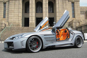 Office-K Display the Immense FAB Design SLR Roadster Desire