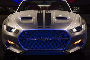 Galpin Auto Sports Teams Up with Fisker to Let Off 725-HP Mustang Rocket in LA