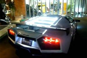 Video: Sci-Fi Lighting on a Lamborghini Murcielago in Arabia