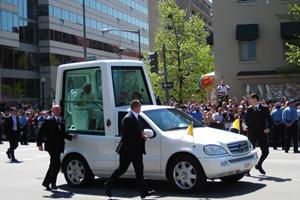 Pope Benedict XVI: Green Motorist