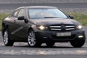 Spied: Mercedes C-Class Coupe