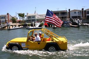 WaterCar Gator: A VW Beetle-Based Jeep Imitator