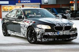 Spied: Next BMW M5 Caught Testing