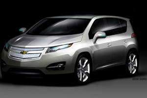 Chevy to Reveal Volt-Based Crossover