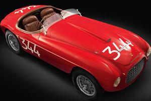 1949 Ferrari 166MM Touring Barchetta to be Auctioned