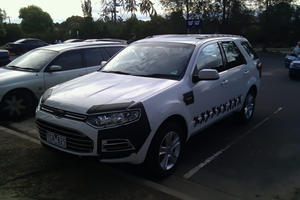 Spied: Australian 2011 Ford Territory