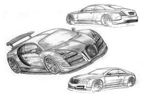 FAB Design has Bugatti Veyron and Maybach Coupe in their Sights
