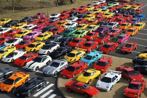 Video: The Supercar Club of Japan Meet at Mount Fuji