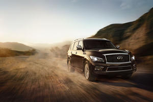 2017 Infiniti QX80 SUV Review