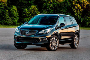 2017 Buick Envision SUV Review