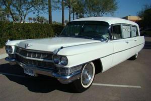 JFK Cadillac Hearse Up for Auction at Barrett-Jackson