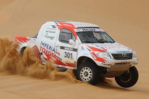 Dakar 2012: Can Robby Gordon Win In South America?