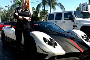 Bienvenido a Miami: Pagani Zonda Cinque Roadster at Prestige Imports