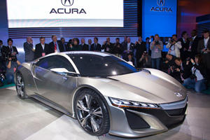 Acura is Back with their NSX Concept at Detroit