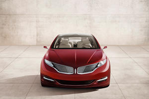 Lincoln MKZ Concept Debuts in Detroit Marking Rebirth of Ford's Luxury Arm