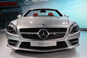 Live Shots of All-New 2013 Mercedes-Benz SL in Detroit