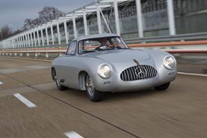 A Living Legend at Detroit: The Oldest Mercedes 300SL in Existence