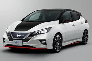 Nissan Leaf Nismo Concept Previews Hot-Hatch EV