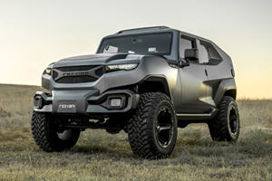 The Rezvani Tank Unveiled As A $180,000 Tactical Urban XUV