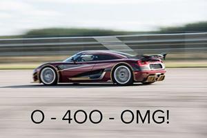 Has Koenigsegg Already Beaten The Bugatti Chiron's 0-249-0 MPH Record?