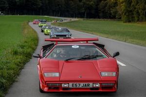 A European Road Trip In A Lamborghini Countach Is Heaven