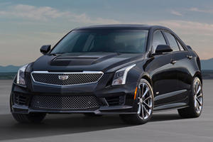 2017 Cadillac ATS-V Sedan  Review