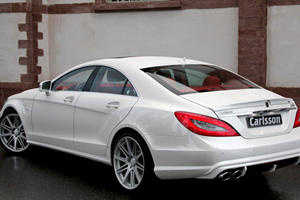Carlsson Unveils Their Seriously Red and White Mercedes-Benz CK63 RS