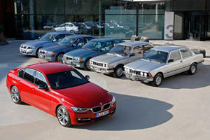 BMW Releases 3-Series Family Photo