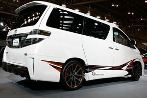 Toyota Vellfire G Sports Concept Rolls into the Tokyo Auto Salon