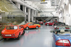 Over 100 Cars to be Liquidated from Saab Museum