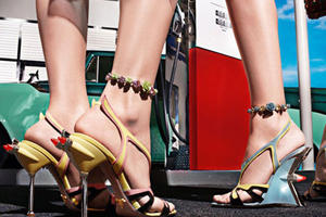 Prada Releases Cadillac and Hot Rod-Inspired Shoe Collection