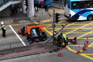 The World Mourns as Another Pagani Zonda F Crashes in Hong Kong