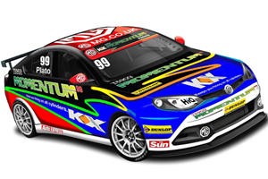 Chinese Co. MG Motor's MG6 GT Goes to Britain for the Races
