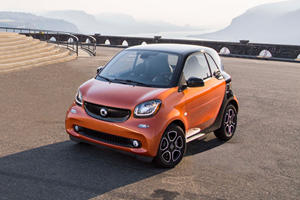 2017 smart fortwo coupe Review