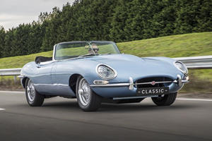 Jaguar Worked With Rimac To Develop The All-Electric E-Type Zero
