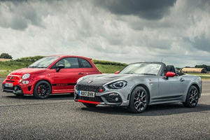 Abarth 125 Spider Shows Powerful Abarth 595 Comp Why RWD Is Better
