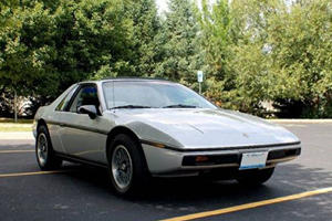 Perfect Pontiac Fiero Comes With The Heart Of A Corvette