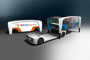 The Rinspeed Snap Is An Autonomous Car With Swappable Bodies