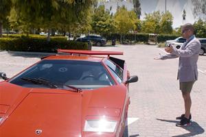 Watch Chris Harris Show How To Reverse Park A Lamborghini Countach