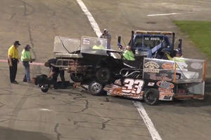 Racing Driver Tased After Intense Fight Breaks Out On Track Following Crash