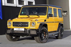 German Tuner Turns The Mercedes-AMG G63 Into A 850-HP Monster
